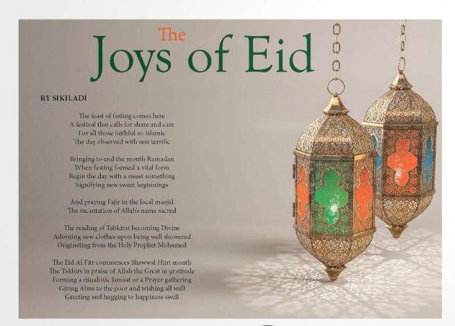 Eid poem 2017 TAW