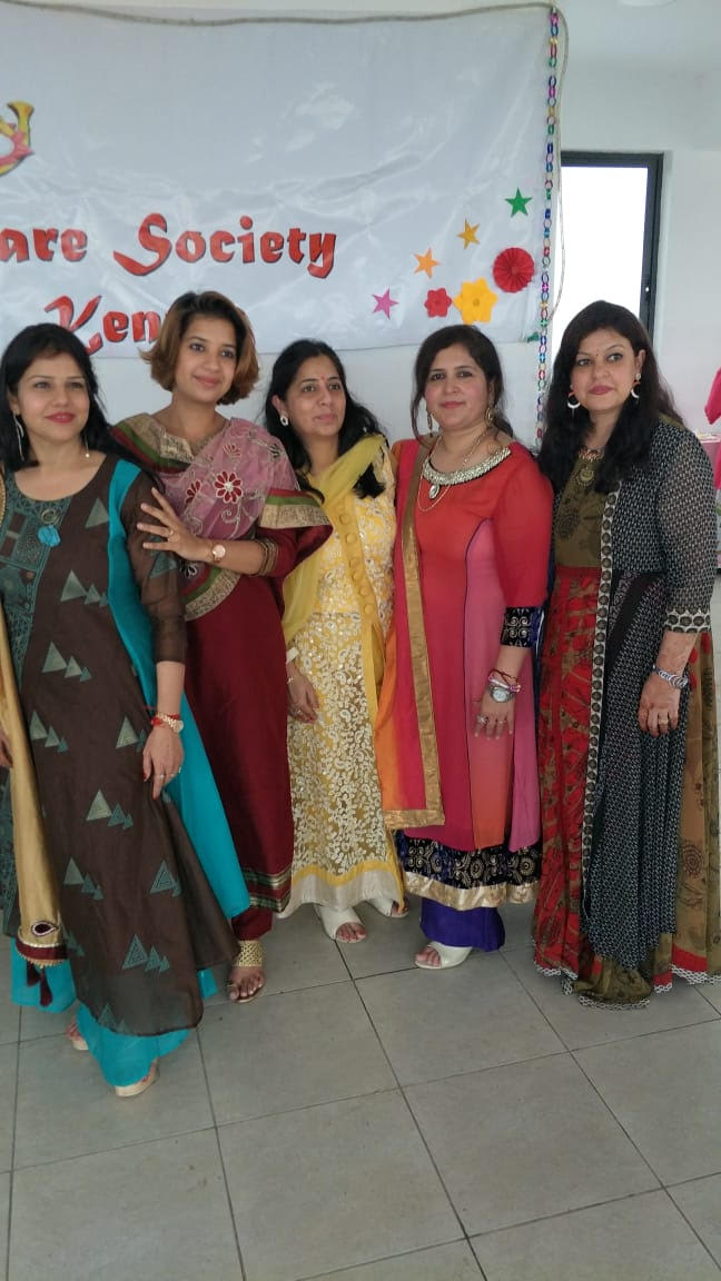 The Ladies behind the event Laveena, Kripa, Rushali,Kashish and Bhumika