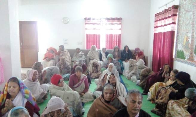 the widows at Maitri Ghar