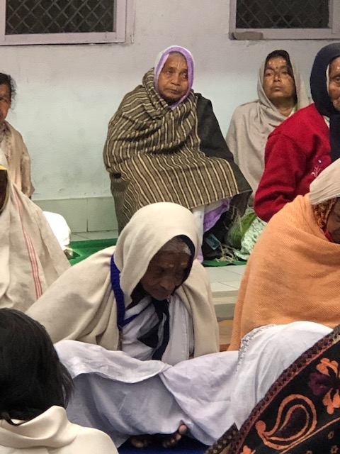 Widows at Maitri Ghar