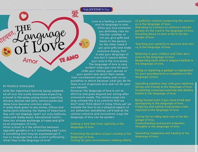 language of love taw